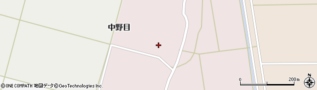 山形県酒田市中野目53周辺の地図