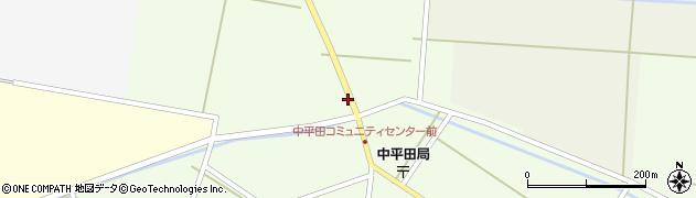 山形県酒田市熊手島道の下熊興屋周辺の地図