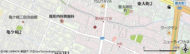 山形県酒田市大町11周辺の地図