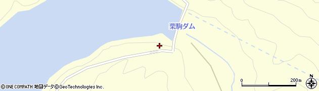 宮城県栗原市栗駒沼倉玉山周辺の地図