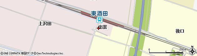山形県酒田市大町出雲33周辺の地図