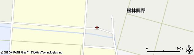 山形県酒田市桜林興野66周辺の地図