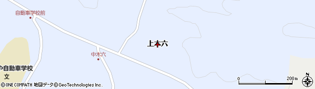 岩手県一関市千厩町千厩(上木六)周辺の地図