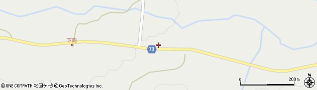 山形県最上郡金山町有屋312周辺の地図