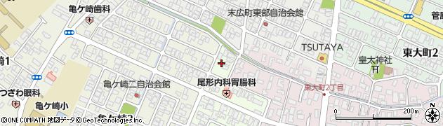 山形県酒田市みずほ1丁目1周辺の地図