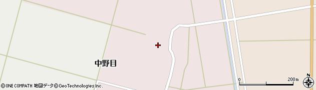 山形県酒田市中野目74周辺の地図