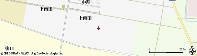 山形県酒田市中野新田上南田周辺の地図