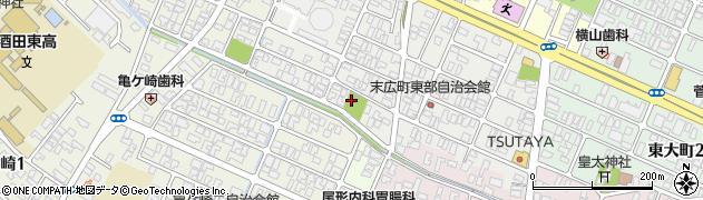 山形県酒田市末広町17周辺の地図