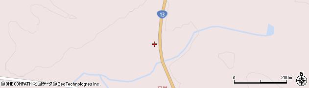 山形県最上郡金山町飛森411周辺の地図