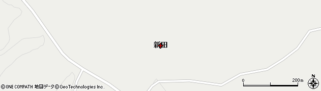 岩手県一関市千厩町小梨(新田)周辺の地図