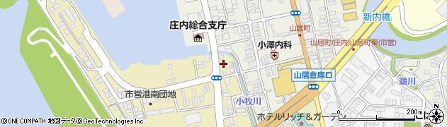 山形県酒田市入船町1周辺の地図
