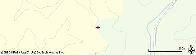 山形県酒田市中野俣西之沢周辺の地図