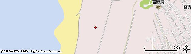 山形県酒田市宮野浦(袖岡)周辺の地図