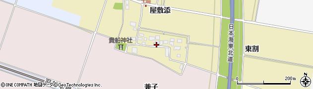 山形県酒田市土崎屋敷添15周辺の地図