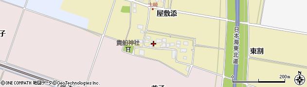 山形県酒田市土崎屋敷添22周辺の地図