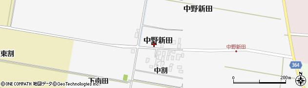 山形県酒田市中野新田中割47周辺の地図