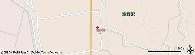 山形県酒田市生石滝野沢45周辺の地図