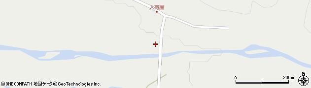 山形県最上郡金山町有屋3周辺の地図