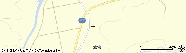 山形県酒田市北俣石鉢山95周辺の地図