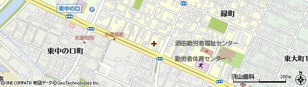 山形県酒田市若浜町17周辺の地図