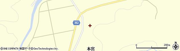 山形県酒田市北俣石鉢山97周辺の地図