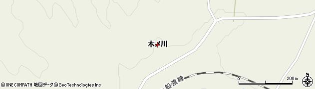 岩手県一関市滝沢(木ノ川)周辺の地図