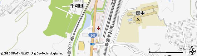 岩手県一関市千代田町周辺の地図