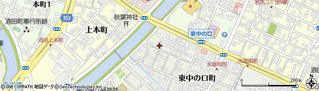 山形県酒田市東中の口町2-31周辺の地図