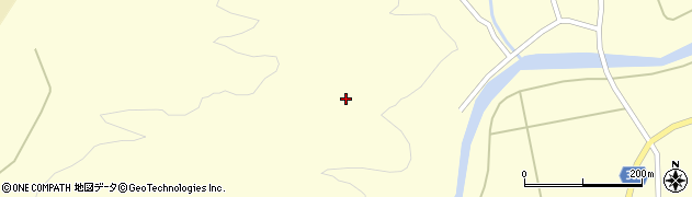 山形県酒田市北俣西向山周辺の地図