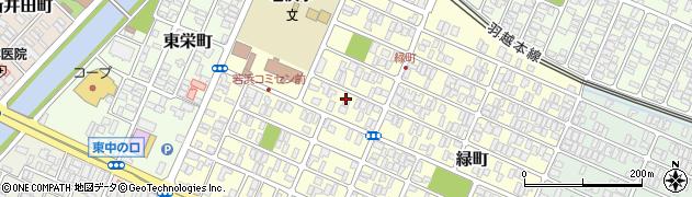 山形県酒田市若浜町6周辺の地図