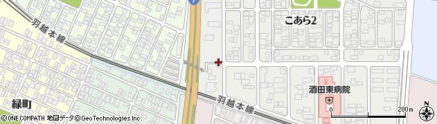 山形県酒田市浜田(十王堂)周辺の地図