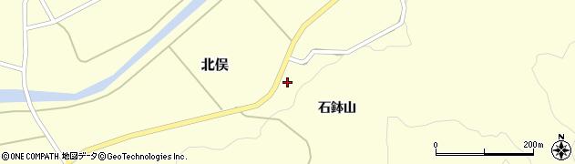 山形県酒田市北俣石鉢山50周辺の地図