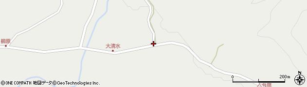 山形県最上郡金山町有屋66周辺の地図