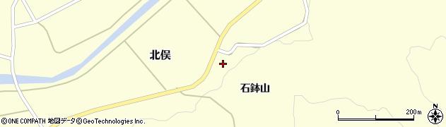 山形県酒田市北俣石鉢山49周辺の地図