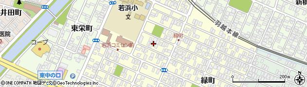 山形県酒田市若浜町5周辺の地図