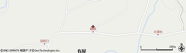 山形県最上郡金山町有屋132周辺の地図