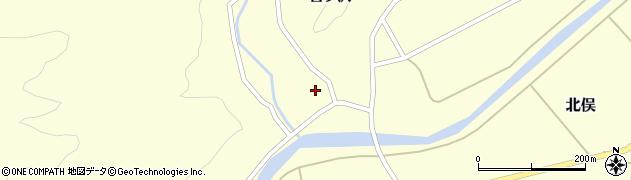 山形県酒田市北俣吉ケ沢130周辺の地図