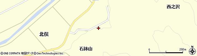 山形県酒田市北俣石鉢山31周辺の地図