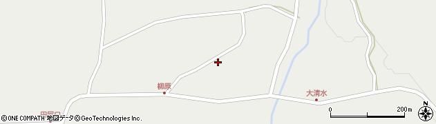 山形県最上郡金山町有屋122周辺の地図