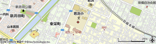 山形県酒田市若浜町1周辺の地図