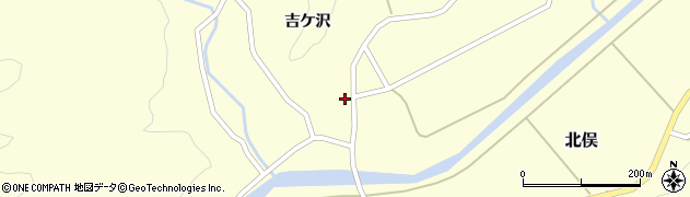 山形県酒田市北俣吉ケ沢117周辺の地図