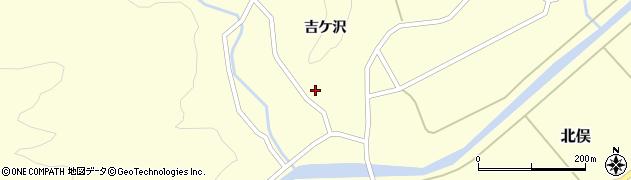 山形県酒田市北俣吉ケ沢111周辺の地図