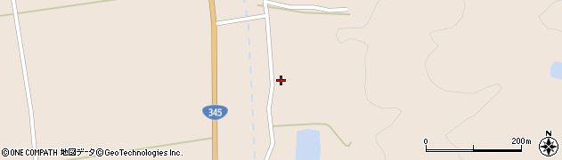 山形県酒田市生石滝野沢242周辺の地図
