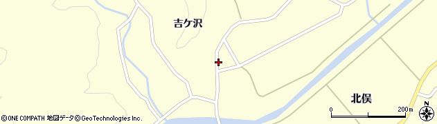 山形県酒田市北俣吉ケ沢49周辺の地図