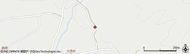 山形県最上郡金山町有屋88周辺の地図