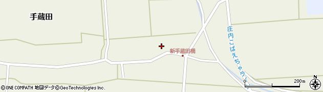 山形県酒田市手蔵田村建2周辺の地図