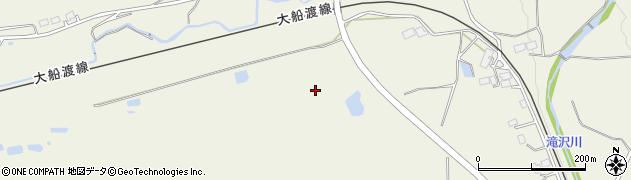 岩手県一関市滝沢(水口)周辺の地図