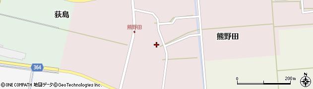 山形県酒田市熊野田仁田30周辺の地図