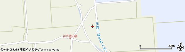 山形県酒田市手蔵田村上24周辺の地図