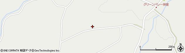 山形県最上郡金山町有屋89周辺の地図